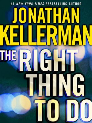 cover image of The Right Thing to Do (Short Story)
