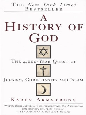 cover image of A History of God