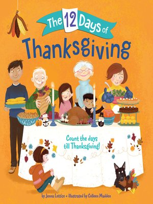 cover image of The 12 Days of Thanksgiving