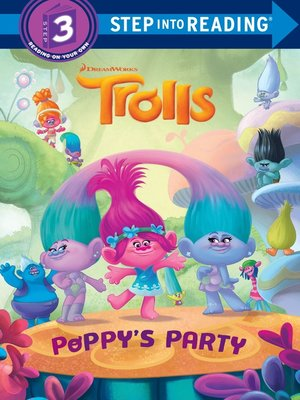 cover image of Trolls Deluxe Step into Reading with Cardstock