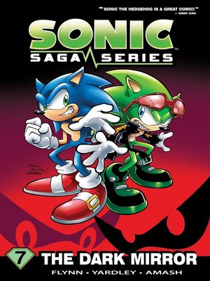 cover image of Sonic Saga Series 7: The Dark Mirror