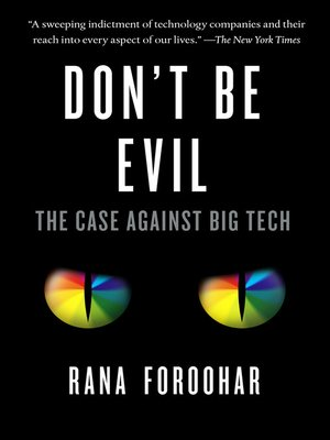 cover image of Don't Be Evil
