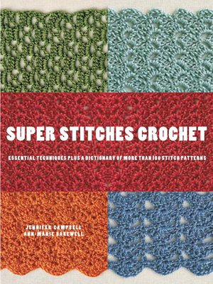 cover image of Super Stitches Crochet