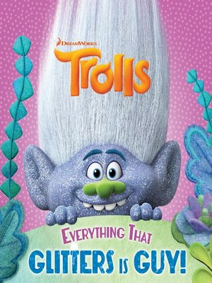 cover image of Trolls Glitter Pictureback with Poster