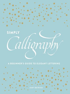 cover image of Simply Calligraphy