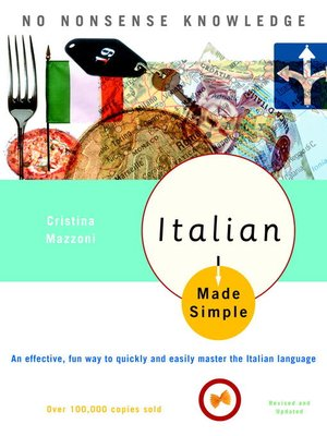 cover image of Italian Made Simple