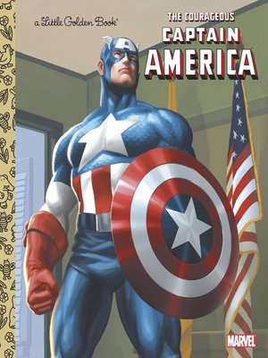 cover image of The Courageous Captain America