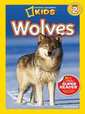 cover image of National Geographic Readers: Wolves
