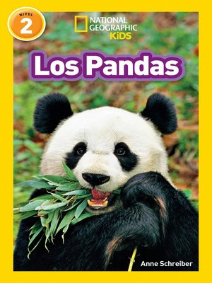 cover image of National Geographic Readers: Los Pandas (Pandas)