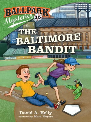 cover image of Ballpark Mysteries #15