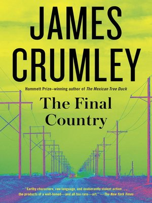 cover image of The Final Country