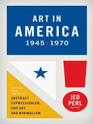 cover image of Art in America 1945-1970