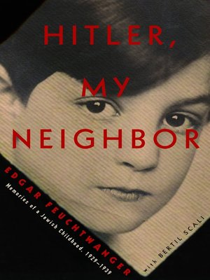 cover image of Hitler, My Neighbor