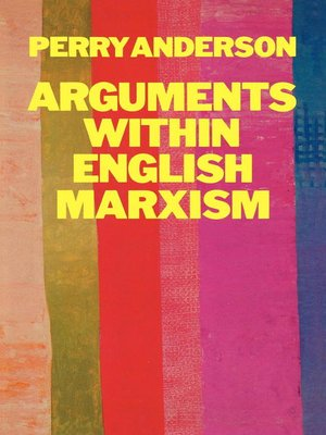 cover image of Arguments Within English Marxism