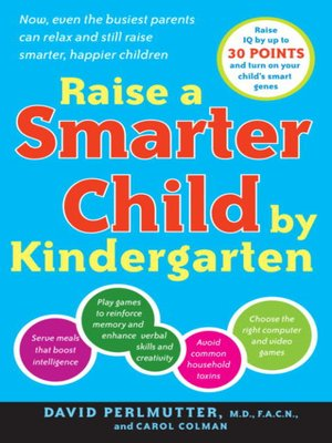 cover image of Raise a Smarter Child by Kindergarten