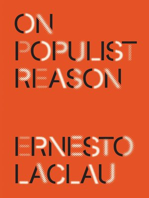 cover image of On Populist Reason