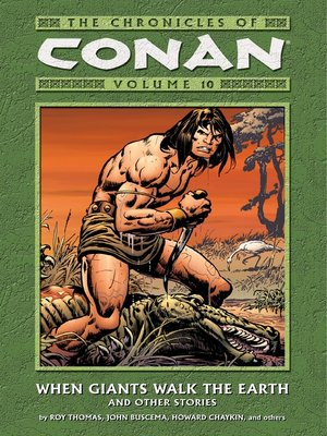 cover image of Chronicles of Conan, Volume 10