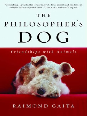 cover image of The Philosopher's Dog