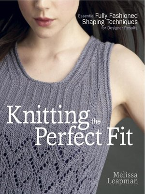 cover image of Knitting the Perfect Fit