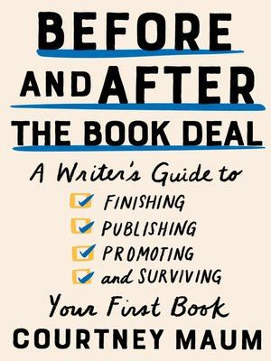 cover image of Before and After the Book Deal