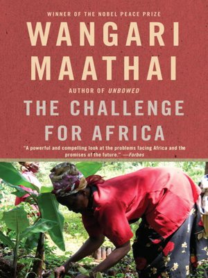 cover image of The Challenge for Africa
