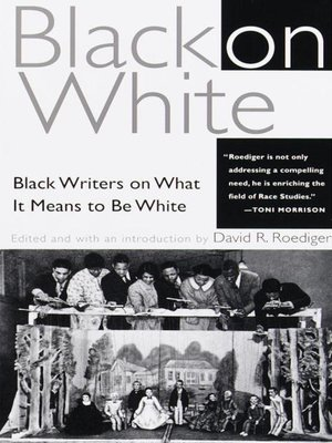 cover image of Black on White