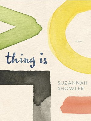 cover image of Thing Is