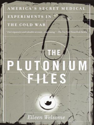 cover image of The Plutonium Files