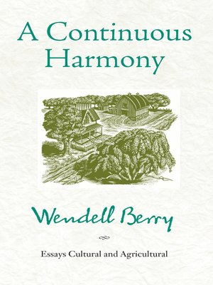 cover image of A Continuous Harmony