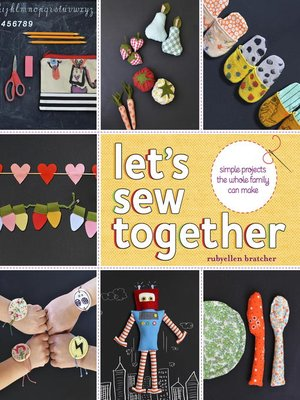 cover image of Let's Sew Together