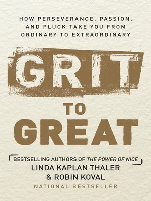 cover image of Grit to Great