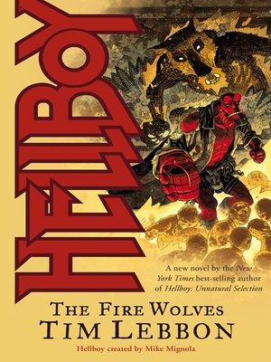 cover image of Hellboy: The Fire Wolves