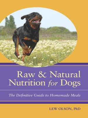 cover image of Raw & Natural Nutrition for Dogs