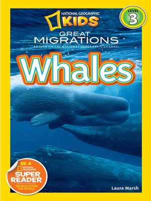 cover image of National Geographic Readers: Great Migrations Whales