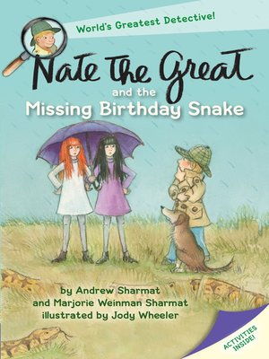 cover image of Nate the Great and the Missing Birthday Snake