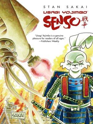 cover image of Usagi Yojimbo: Senso