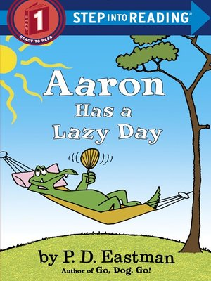 cover image of Aaron Has a Lazy Day