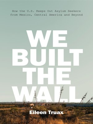 cover image of We Built the Wall