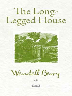 cover image of The Long-Legged House