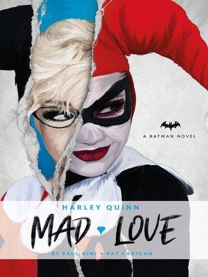 cover image of DC Comics novels--Harley Quinn