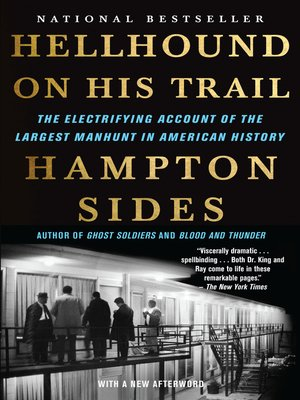 cover image of Hellhound on His Trail