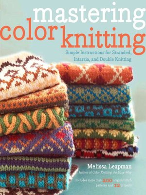 cover image of Mastering Color Knitting