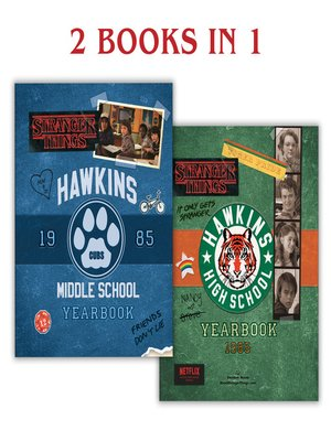 cover image of Hawkins Middle School Yearbook/Hawkins High School Yearbook (Stranger Things)