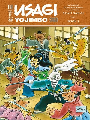cover image of The Usagi Yojimbo Saga, Volume 5