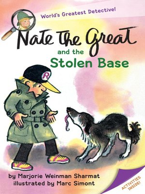 cover image of Nate the Great and the Stolen Base