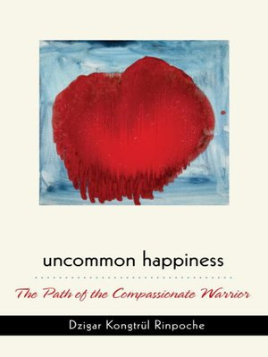 cover image of Uncommon Happiness