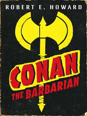 cover image of Conan the Barbarian