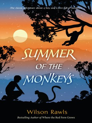 cover image of Summer of the Monkeys