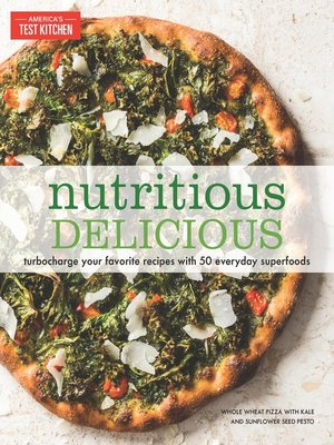 cover image of Nutritious Delicious