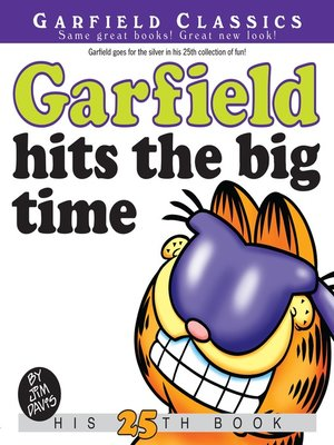 cover image of Garfield Hits the Big Time
